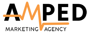 amped marketing agency logo